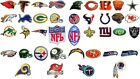 NFL, National Football league Embroidered iron on team logo patches. $2.90 USD on eBay