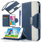 """iPhone 6S 6 4.7"""" Case ULAK Folio Synthetic Leather Wallet w/"""