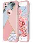 ULAK Marble Pattern 2in1 Hybrid Shockproof Case Cover for Apple iPhone 6 6S 4.7""