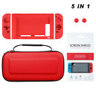 ULAK Accessory Carrying Case Bag For Nintendo Switch w/ PET Screen Protector