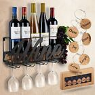 Wall Decorative Mounted Wine Rack Bottle&Glass Holder With - Best Reviews Guide