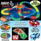 New Magic Tracks 18ft 360Pcs Mega Set Amazing Racing Bend Flex Twist LED LIGHT