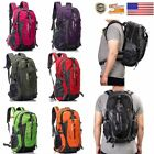Newest 40L Outdoor Hiking Camping Backpack Multi-Function Rucksack Laptop Bag US
