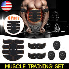8 Pads Ultimate Stimulator Training Fitness Abdominal Muscle Exerciser Trainer