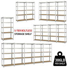 Kyпить Heavy Duty Storage Shelves 5 Level Adjustable Garage Shelf Metal Shelving Unit на еВаy.соm