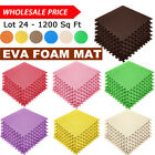EVA Foam Puzzle Floor Mat Exercise Gym Baby Kid Play Activity Mats Tiles Mat LOT image