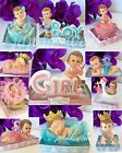 Внешний вид - 1-Baby Shower Girl Boy Cake Topper Decoration Party Favors Pink Blue Its a Baby