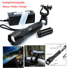 USA! Flashlight Bicycle Light Diving Lamp Torch CREE 1xled /10xT6 LED optional