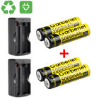 18650 Battery 5000mAh Li-ion 3.7V Rechargeable Batteries for LED Flashlight Lot