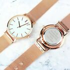 PERSONALISED Engraved Ladies Rose Gold Tone Watch Gift Present For Her Mother