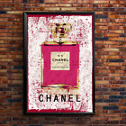 Chanel Vogue Fashion Print Poster Wall Art A5 A4 A3 Girls Paris Decor Boutique