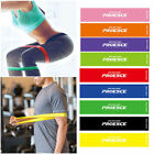 US Resistance Bands Exercise Elastic Strength Train Latex Loop Yoga Fitness Gear image
