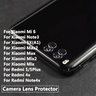 Back Camera Lens Tempered Glass Protector For Xiaomi Mix Max Max2 Note 3 5 4x 5x