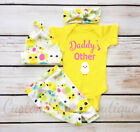 kids easter outfits - US Easter Infant Kids Baby Girl Boy Chick Romper+Long Pants Outfits Summer 4PCS