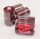 5x Wine M120 polyester overlock cottons sewing thread for outdoor cushion covers