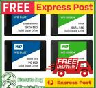 "WD Blue Green 120GB 240GB 500GB 1TB 2TB 2.5"" Sata Internal Sold State Drive SSD"