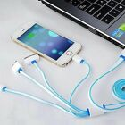 New USB Charging Cable Universal 4 in 1 Multi-Function Cell Phone Charger Cord