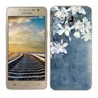Soft TPU Silicone Case For Samsung Galaxy J2 Prime Phone Back Cover Skin Floral