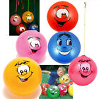 Kids Punch Ball Large Bounce Bop Smelly Smell Fruit Scented Keychain Smiley Face