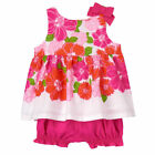 NWT Gymboree Baby Girl TINY TROPICS Pink Island Floral 2-Piece Set Summer Outfit