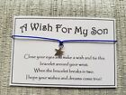 A Wish For My Son * Wish Bracelet * Friendship * Gift * Favour * Family