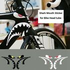 Kyпить Shark Mouth Sticker for Bicycle Frames Head Tube MTB Road Bike Cycling Decals на еВаy.соm