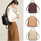 Real Leather Small Mini Backpack Rucksack Daypack Travel bag Purse Studded