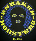 Sneaktip Mens Sneaker Booster 100% Cotton Graphic Black Tee Shirt Size XL or 2XL