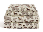 Twin, Full, Queen or King Dog Sheet Set Microfiber Puppy Pet Animal Lover Gift image