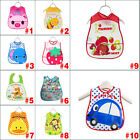 Cute Cartoon EVA Waterproof Silicone Bay Bibs Infants Burp Clothes Feeding Care
