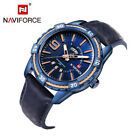 NAVIFORCE 9117 Fashion Casual Waterproof Watch Men Military Relogio Masculino image