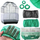 M L Seed Catcher Guard Mesh Bird Cage Case Cover Skirt Traps Clean Cage