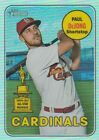 2018 TOPPS HERITAGE CHROME REFRACTOR # TO 569 U-PICK COMPLETE YOUR SET