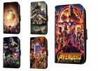 Avengers Inspired leather phone case marvel infinity war movie Iphone Samsung
