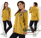 Beautiful Woman Sport Wear Ingeo and Two-thread cloth Long Sleeve - Plus size