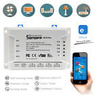 Sonoff 4CH PRO R2 4Way Mounting WiFI Wireless Smart Switch 433MHZ Remote Control
