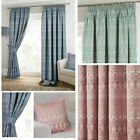 Indiana Cotton Rich Lined Pencil Pleat Curtains (pair Of) - Now £10, £15 & £20