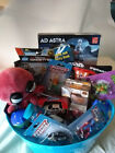 Boys Marvel Disney Superhero Activity Gift Basket No Candy Easter or Birthday