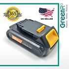 GreenR3 For DEWALT DCB204 Max XR 2.0Ah Lithium-Ion Battery 20 Volt 2000mAh