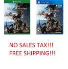 ps4 xbox 1 sales - Monster Hunter World (Xbox One,PS4, 2018) Brand NEW!!!! NO SALES TAX!!!!
