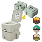 10L/20L Portable Toilet Flush Travel Outdoor Camping Hiking Indoor Potty Commode