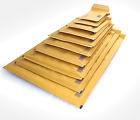 Bubble Lined GOLD Padded Envelopes, Strong & Light Postal Mailing Bag, All Sizes