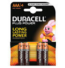 GENUINE ORIGINAL DURACELL AAA PLUS POWER BATTERY DURALOCK UP TO 50%+ MORE POWER