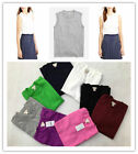 Jcrew Cotton Pullover knitted Tank Top Sweater Multi-Color XXS/XS/S/M/L/XL