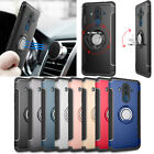 For Huawei Mate 9/10/Pro/Lite/V9 Adsorption Magnetic Ring Stand Car Case Cover