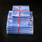 PVC Heat Shrink Wrapping Pouch Clear Poly Bags Flat Seal Gift Packing Pack Gift