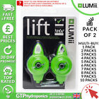 Lumii Lift Adjustable Grow Light Hangers -Pack of 2 - x1-x10 - 5kg Rope Ratchets