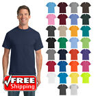 Tall Core Blend T-Shirt Soft Color Blank Plain Solid Comfort Casual Tee PC55T image