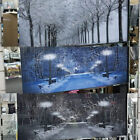 Black & white woods pictures with liquid art, crystals & mirror frame pictures