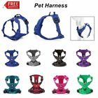 Truelove Dog Cat Harness Vest Collars Leash Reflective Pet Padded Comfortable US